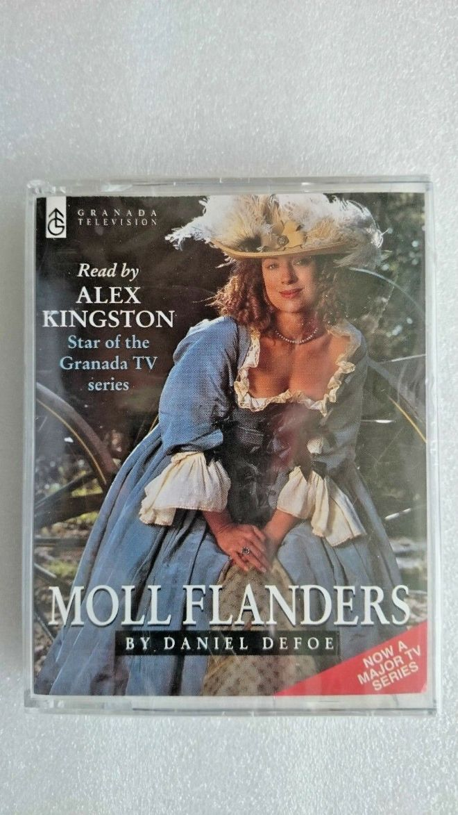 Moll Flanders by Daniel Defoe (Audio cassette, 1996) - NEW and SEALED